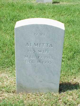 GRAY, ALMITTA - Pulaski County, Arkansas   ALMITTA GRAY - Arkansas Gravestone Photos