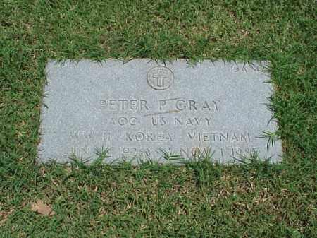 GRAY (VETERAN 3 WARS), PETER P - Pulaski County, Arkansas | PETER P GRAY (VETERAN 3 WARS) - Arkansas Gravestone Photos
