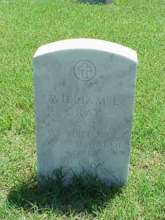 GRAY (VETERAN 3 WARS), WILLIAM L - Pulaski County, Arkansas   WILLIAM L GRAY (VETERAN 3 WARS) - Arkansas Gravestone Photos