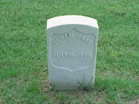 GRAY (VETERAN UNION), ISHAM - Pulaski County, Arkansas | ISHAM GRAY (VETERAN UNION) - Arkansas Gravestone Photos