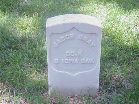 GRAY (VETERAN UNION), JACOB - Pulaski County, Arkansas | JACOB GRAY (VETERAN UNION) - Arkansas Gravestone Photos
