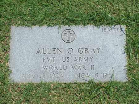 GRAY (VETERAN WWII), ALLEN O - Pulaski County, Arkansas | ALLEN O GRAY (VETERAN WWII) - Arkansas Gravestone Photos