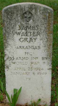 GRAY (VETERAN WWII), JAMES WALTER - Pulaski County, Arkansas   JAMES WALTER GRAY (VETERAN WWII) - Arkansas Gravestone Photos