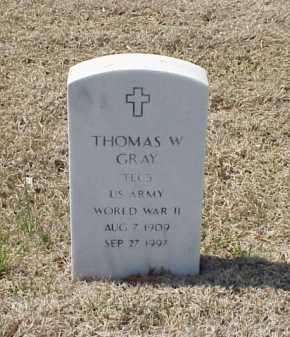 GRAY (VETERAN WWII), THOMAS W - Pulaski County, Arkansas | THOMAS W GRAY (VETERAN WWII) - Arkansas Gravestone Photos