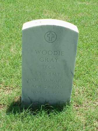 GRAY (VETERAN WWII), WOODIE - Pulaski County, Arkansas   WOODIE GRAY (VETERAN WWII) - Arkansas Gravestone Photos