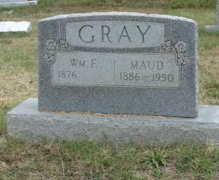 GRAY, WM. F. - Pulaski County, Arkansas | WM. F. GRAY - Arkansas Gravestone Photos