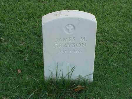 GRAYSON, JAMES M - Pulaski County, Arkansas   JAMES M GRAYSON - Arkansas Gravestone Photos