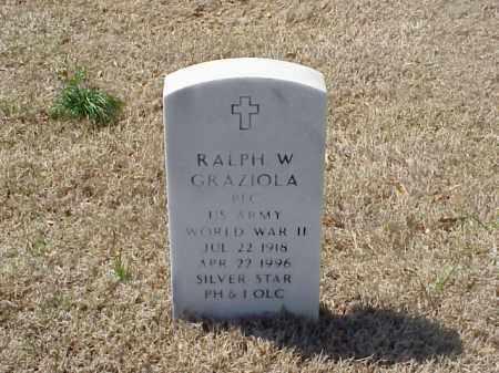 GRAZIOLA (VETERAN WWII), RALPH WILLIAM - Pulaski County, Arkansas | RALPH WILLIAM GRAZIOLA (VETERAN WWII) - Arkansas Gravestone Photos