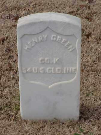 GREEN  (VETERAN UNION), HENRY - Pulaski County, Arkansas | HENRY GREEN  (VETERAN UNION) - Arkansas Gravestone Photos