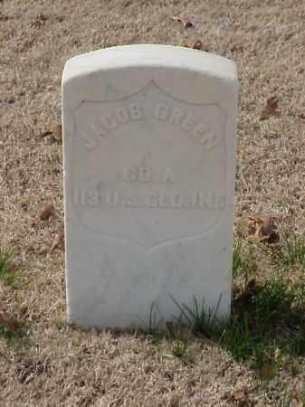 GREEN  (VETERAN UNION), JACOB - Pulaski County, Arkansas | JACOB GREEN  (VETERAN UNION) - Arkansas Gravestone Photos
