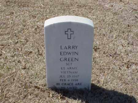 GREEN  (VETERAN VIET), LARRY EDWIN - Pulaski County, Arkansas | LARRY EDWIN GREEN  (VETERAN VIET) - Arkansas Gravestone Photos