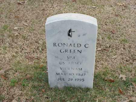 GREEN  (VETERAN VIET), RONALD C - Pulaski County, Arkansas | RONALD C GREEN  (VETERAN VIET) - Arkansas Gravestone Photos