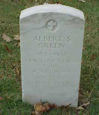 GREEN  (VETERAN WWI), ALBERT S - Pulaski County, Arkansas | ALBERT S GREEN  (VETERAN WWI) - Arkansas Gravestone Photos