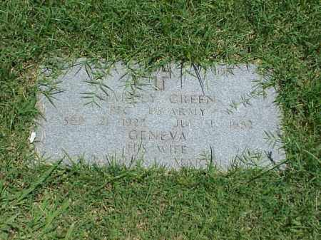 GREEN, GENEVA - Pulaski County, Arkansas | GENEVA GREEN - Arkansas Gravestone Photos
