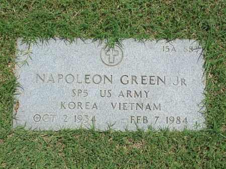 GREEN, JR (VETERAN 2 WARS), NAPOLEON - Pulaski County, Arkansas | NAPOLEON GREEN, JR (VETERAN 2 WARS) - Arkansas Gravestone Photos