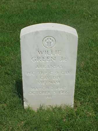 GREEN JR (VETERAN VIET), WILLIE - Pulaski County, Arkansas   WILLIE GREEN JR (VETERAN VIET) - Arkansas Gravestone Photos