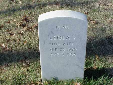 GREEN, LEOLA F. - Pulaski County, Arkansas | LEOLA F. GREEN - Arkansas Gravestone Photos