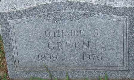 GREEN, LOTHAIRE S. - Pulaski County, Arkansas | LOTHAIRE S. GREEN - Arkansas Gravestone Photos