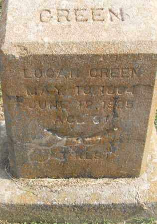 GREEN, LOGAN - Pulaski County, Arkansas | LOGAN GREEN - Arkansas Gravestone Photos