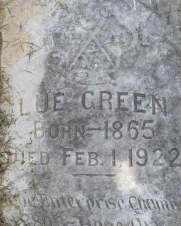 GREEN, LUE - Pulaski County, Arkansas | LUE GREEN - Arkansas Gravestone Photos