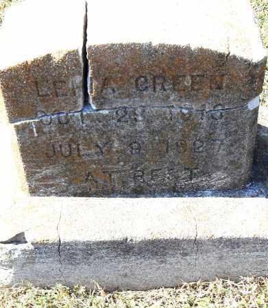 GREEN, LENA - Pulaski County, Arkansas   LENA GREEN - Arkansas Gravestone Photos