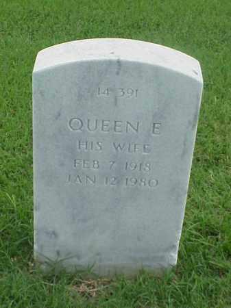 GREEN, QUEEN E - Pulaski County, Arkansas | QUEEN E GREEN - Arkansas Gravestone Photos