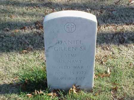 GREEN, SR  (VETERAN WWII), DANIEL - Pulaski County, Arkansas   DANIEL GREEN, SR  (VETERAN WWII) - Arkansas Gravestone Photos