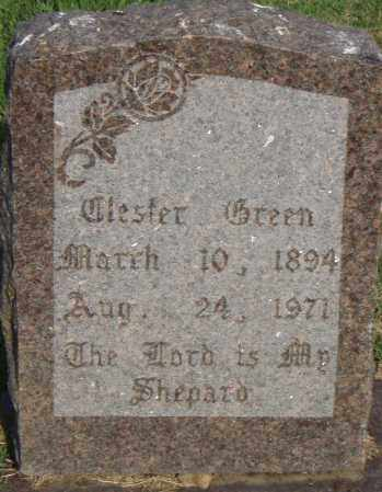GREEN, TLESTER - Pulaski County, Arkansas   TLESTER GREEN - Arkansas Gravestone Photos