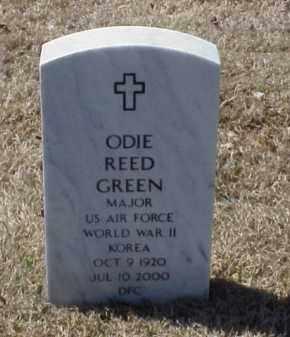GREEN (VETERAN 2 WARS), ODIE REED - Pulaski County, Arkansas | ODIE REED GREEN (VETERAN 2 WARS) - Arkansas Gravestone Photos