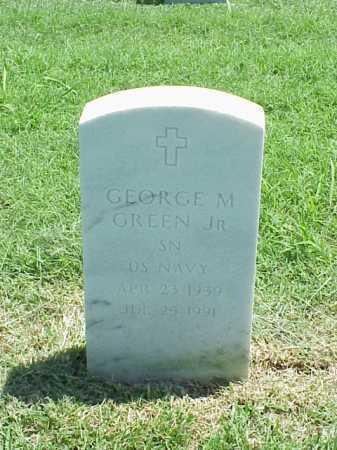 GREEN (VETERAN), GEORGE M - Pulaski County, Arkansas   GEORGE M GREEN (VETERAN) - Arkansas Gravestone Photos