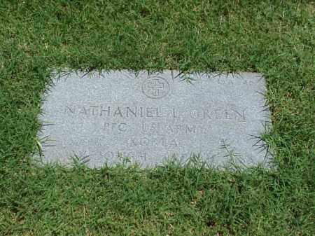GREEN (VETERAN KOR), NATHANIEL L - Pulaski County, Arkansas   NATHANIEL L GREEN (VETERAN KOR) - Arkansas Gravestone Photos