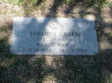 GREEN (VETERAN WWII), THEODIS - Pulaski County, Arkansas | THEODIS GREEN (VETERAN WWII) - Arkansas Gravestone Photos