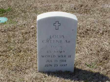 GREENE, SR (VETERAN WWII), LOUIS - Pulaski County, Arkansas | LOUIS GREENE, SR (VETERAN WWII) - Arkansas Gravestone Photos