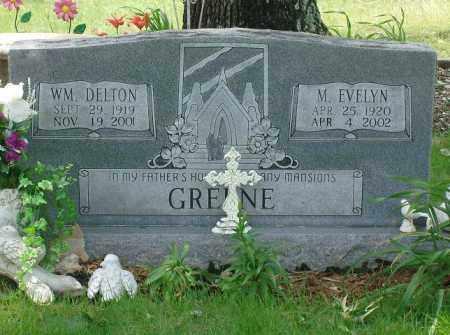 GREENE, WM. DELTON - Pulaski County, Arkansas | WM. DELTON GREENE - Arkansas Gravestone Photos
