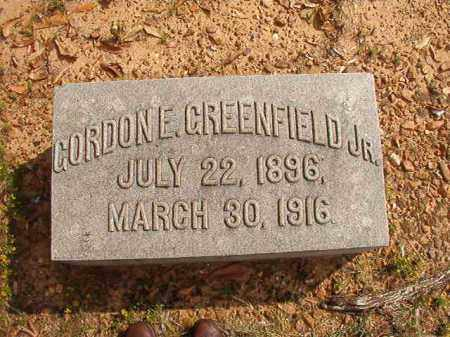 GREENFIELD, JR, GORDON E - Pulaski County, Arkansas | GORDON E GREENFIELD, JR - Arkansas Gravestone Photos