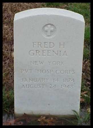 GREENIA (VETERAN SAW), FRED H - Pulaski County, Arkansas | FRED H GREENIA (VETERAN SAW) - Arkansas Gravestone Photos