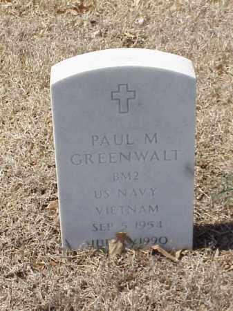 GREENWALT  (VETERAN VIET), PAUL M - Pulaski County, Arkansas | PAUL M GREENWALT  (VETERAN VIET) - Arkansas Gravestone Photos