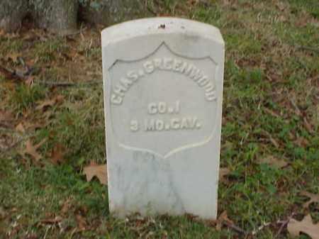 GREENWOOD  (VETERAN UNION), CHARLES - Pulaski County, Arkansas | CHARLES GREENWOOD  (VETERAN UNION) - Arkansas Gravestone Photos