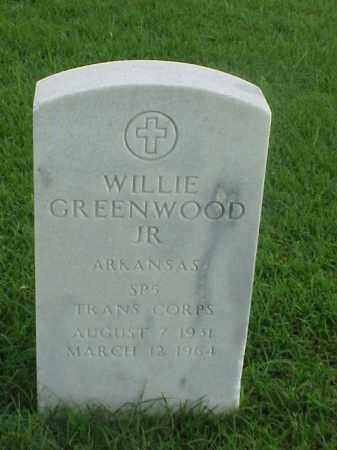 GREENWOOD, JR (VETERAN KOR), WILLIE - Pulaski County, Arkansas | WILLIE GREENWOOD, JR (VETERAN KOR) - Arkansas Gravestone Photos