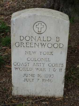 GREENWOOD (VETERAN 2 WARS), DONALD B - Pulaski County, Arkansas | DONALD B GREENWOOD (VETERAN 2 WARS) - Arkansas Gravestone Photos