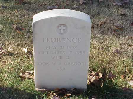 GREGORY, FLORENCE - Pulaski County, Arkansas   FLORENCE GREGORY - Arkansas Gravestone Photos
