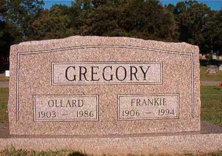 GREGORY, FRANKIE - Pulaski County, Arkansas   FRANKIE GREGORY - Arkansas Gravestone Photos