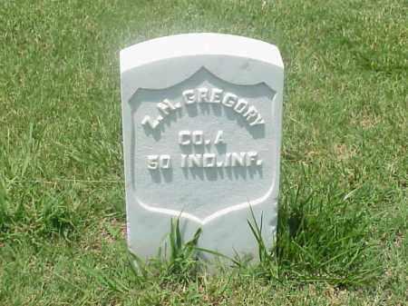 GREGORY (VETERAN UNION), ZEBULON H - Pulaski County, Arkansas | ZEBULON H GREGORY (VETERAN UNION) - Arkansas Gravestone Photos