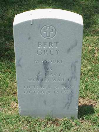 GREY (VETERAN WWI), BERT - Pulaski County, Arkansas | BERT GREY (VETERAN WWI) - Arkansas Gravestone Photos