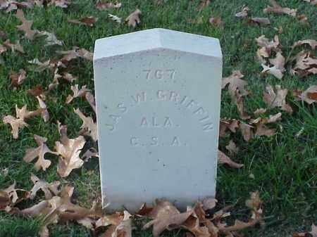 GRIFFIN  (VETERAN CSA), JAMES W - Pulaski County, Arkansas | JAMES W GRIFFIN  (VETERAN CSA) - Arkansas Gravestone Photos