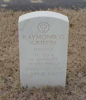 GRIFFIN  (VETERAN WWI), RAYMOND G - Pulaski County, Arkansas   RAYMOND G GRIFFIN  (VETERAN WWI) - Arkansas Gravestone Photos