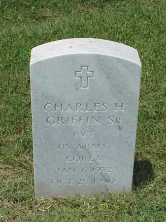 GRIFFIN (VETERAN KOR), CHARLES H - Pulaski County, Arkansas | CHARLES H GRIFFIN (VETERAN KOR) - Arkansas Gravestone Photos