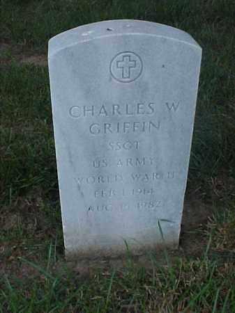 GRIFFIN (VETERAN WWII), CHARLES W - Pulaski County, Arkansas | CHARLES W GRIFFIN (VETERAN WWII) - Arkansas Gravestone Photos
