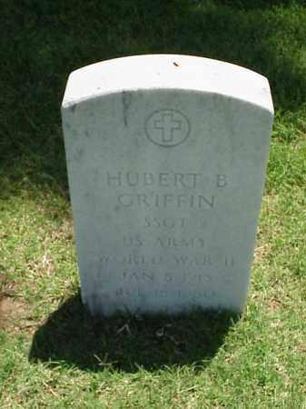 GRIFFIN (VETERAN WWII), HUBERT B - Pulaski County, Arkansas | HUBERT B GRIFFIN (VETERAN WWII) - Arkansas Gravestone Photos