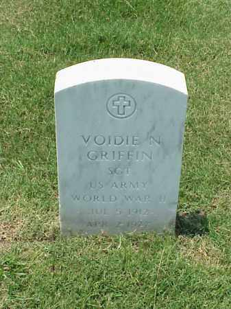 GRIFFIN (VETERAN WWII), VOIDIE N - Pulaski County, Arkansas | VOIDIE N GRIFFIN (VETERAN WWII) - Arkansas Gravestone Photos